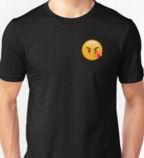 Angry Kiss Emoji T-Shirt