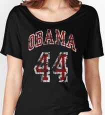 Obama 44th President t shirt Women's Relaxed Fit T-Shirt