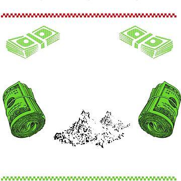 Plata O Plomo Narcos Pablo Escobar Funny Ugly Christmas Jumper Novelty Xmas by 2stevos