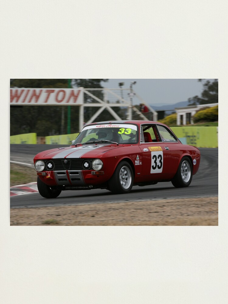 Alternate view of Racing Red Photographic Print