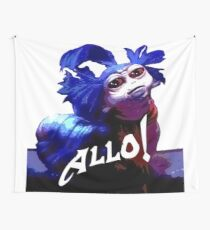 Allo! Wall Tapestry