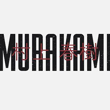 Haruki Murakami by PauEnserius