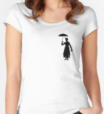 La Mary Poppins Women's Fitted Scoop T-Shirt