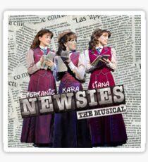 The Three Katherine Plumbers Sticker