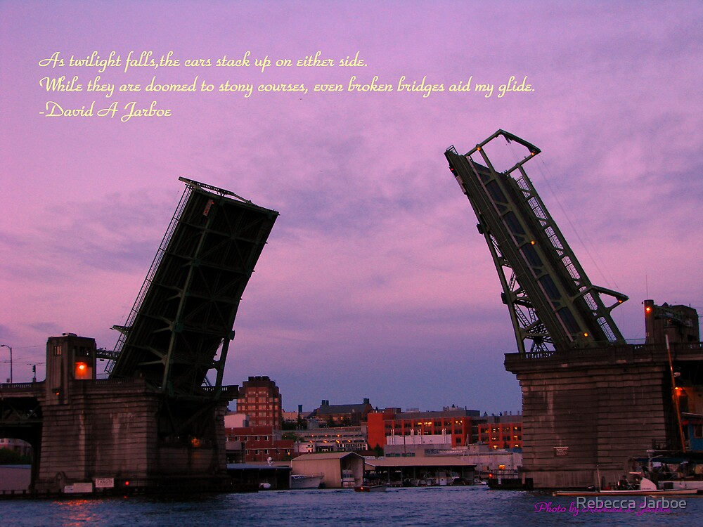 Broken Bridge by Rebecca Jarboe