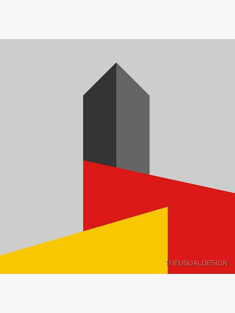 BAUHAUS TOWER by THEUSUALDESIGN