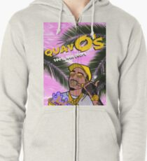 Quavo's Cereal (PINK) Zipped Hoodie