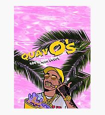 Quavo's Cereal (PINK) Photographic Print