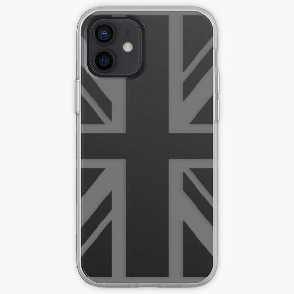 Black Union Jack iPhone Soft Case