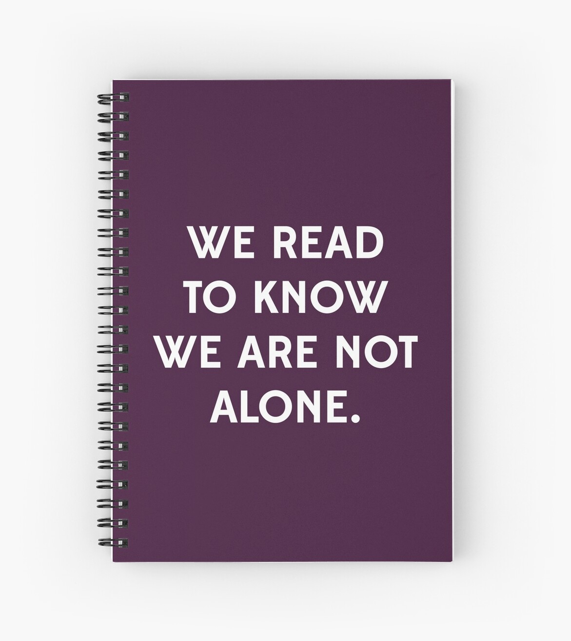 We Read to Know we're not Alone - C.S. Lewis by daddydj12