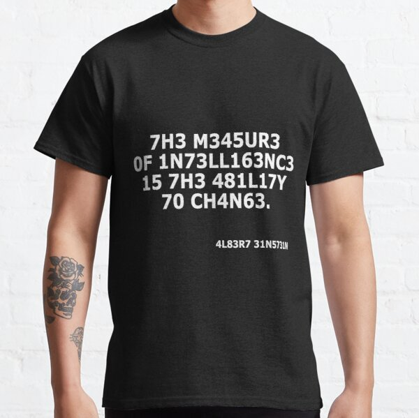 Intelligence Classic T-Shirt