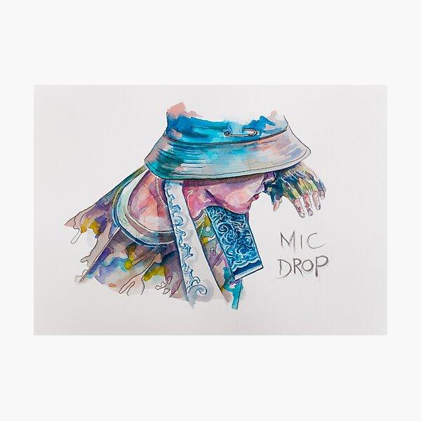 BTS - JHOPE MIC DROP Photographic Print