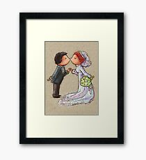 Wedding Kiss Framed Print