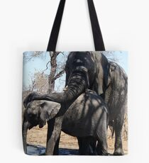 Love and Protection ... Tote Bag