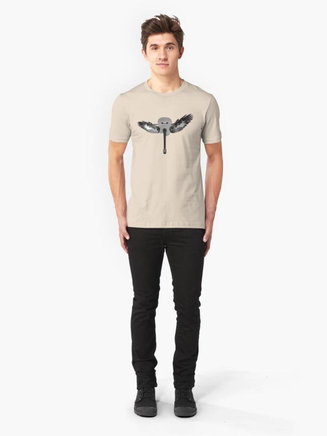 Alternate view of Flying Guitar Slim Fit T-Shirt