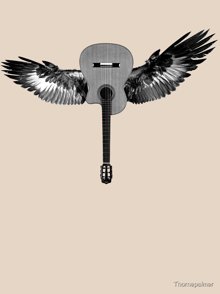 Flying Guitar by Thornepalmer