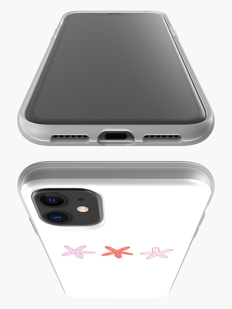 Alternate view of starfish iPhone Case & Cover