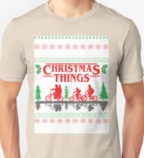 Stranger Things inspired Christmas Sweater Unisex T-Shirt