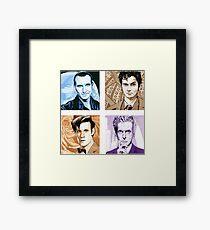 Time Travellers Nine to Twelve! Framed Print