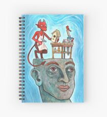 An Idle Mind Is The Devil's Workshop Spiral Notebook