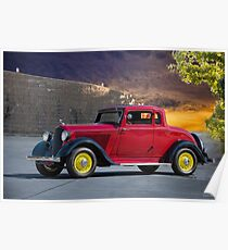 1933 Plymouth PD Coupe 'Five Window' Poster