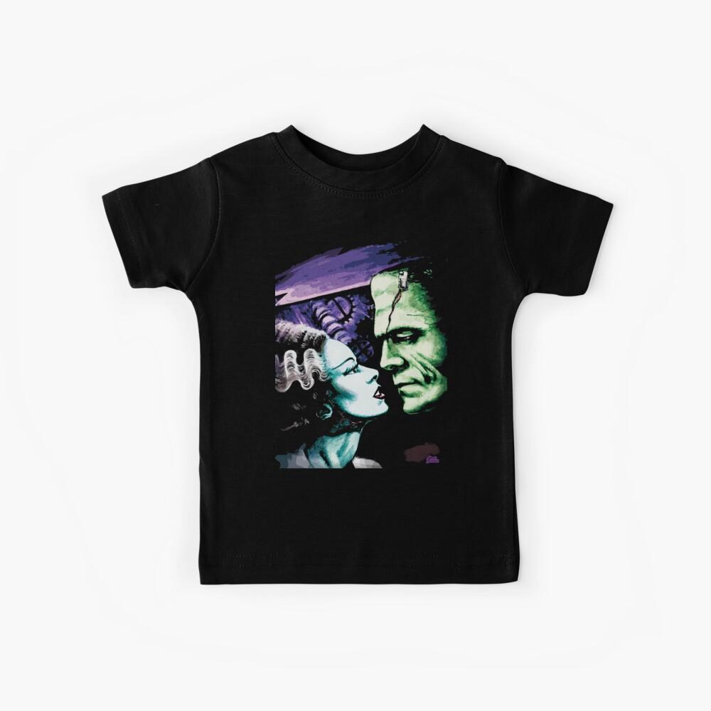 Bride & Frankie Monsters in Love Kids T-Shirt