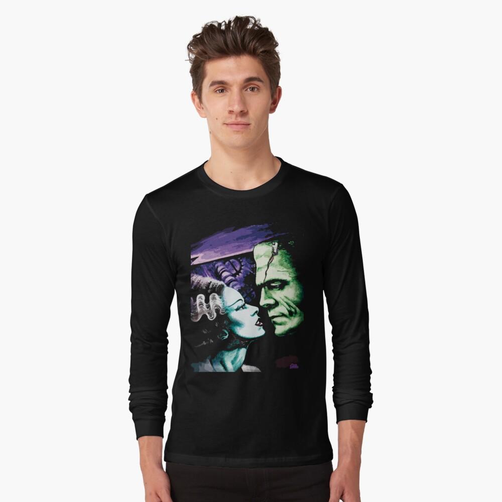 Bride & Frankie Monsters in Love Long Sleeve T-Shirt