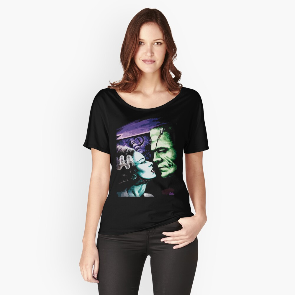 Bride & Frankie Monsters in Love Relaxed Fit T-Shirt