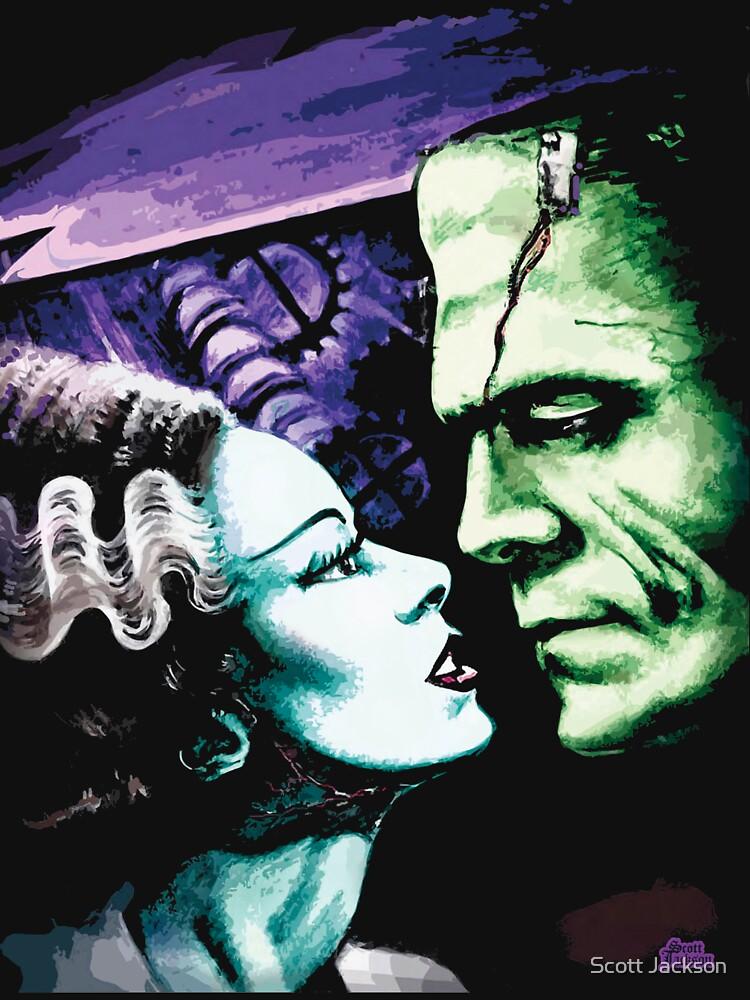 Bride & Frankie Monsters in Love by themonsterstore