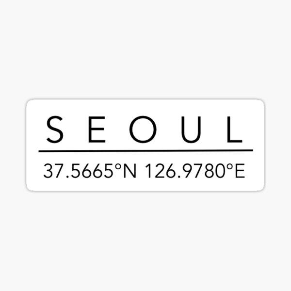 Seoul Sticker