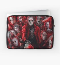 Jason Voorhees (Many faces of) Laptop Sleeve