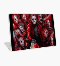 Jason Voorhees (Many faces of) Laptop Skin
