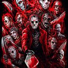 Jason Voorhees (Many faces of) by Scott Jackson