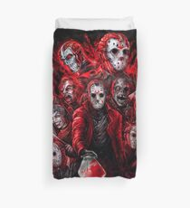 Jason Voorhees (Many faces of) Duvet Cover