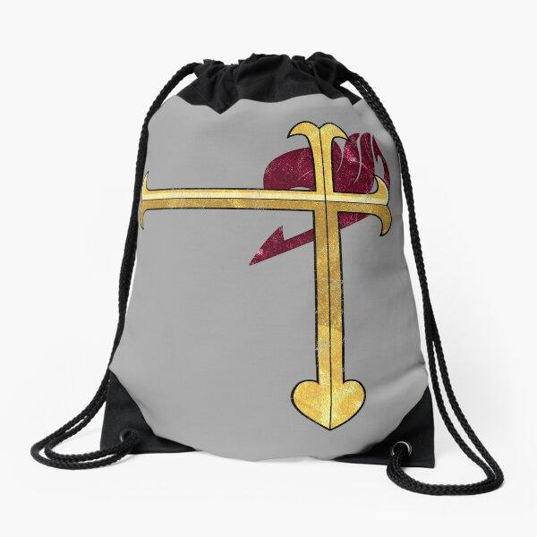 Heart Kreuz  Drawstring Bag