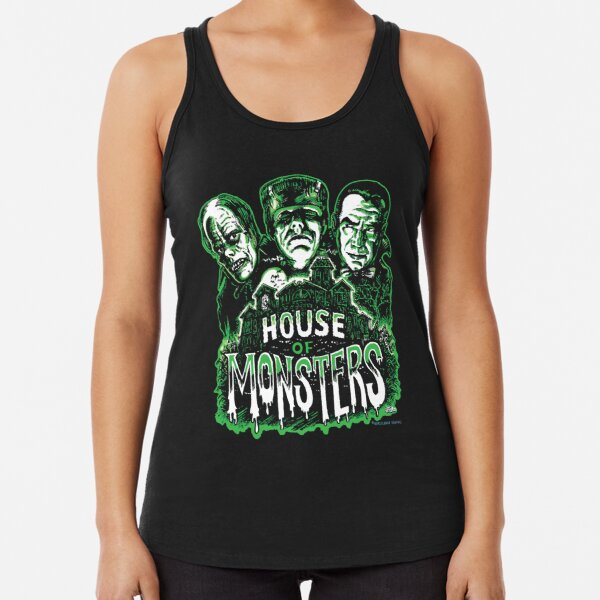 House of Monsters Racerback Tank Top