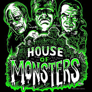 House of Monsters by themonsterstore