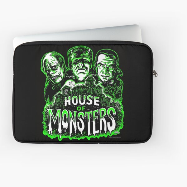 House of Monsters Laptop Sleeve