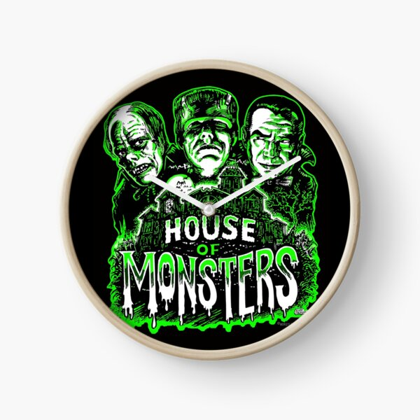 House of Monsters Clock