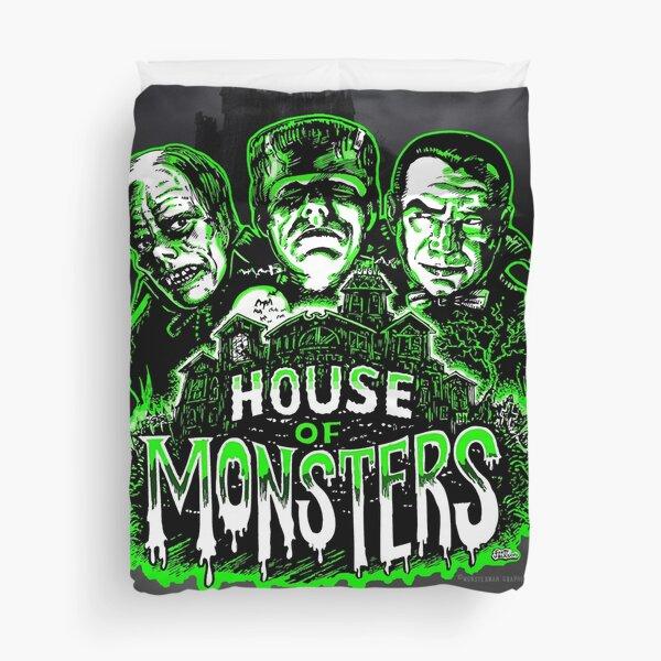 House of Monsters Duvet Cover