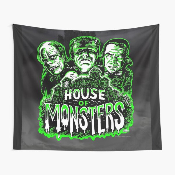 House of Monsters Tapestry
