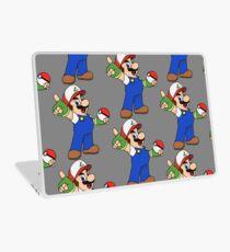 Super Mario x Ash Ketchum Laptop Skin
