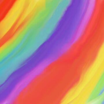 Somewhere Over The Rainbow by SundayMornArt
