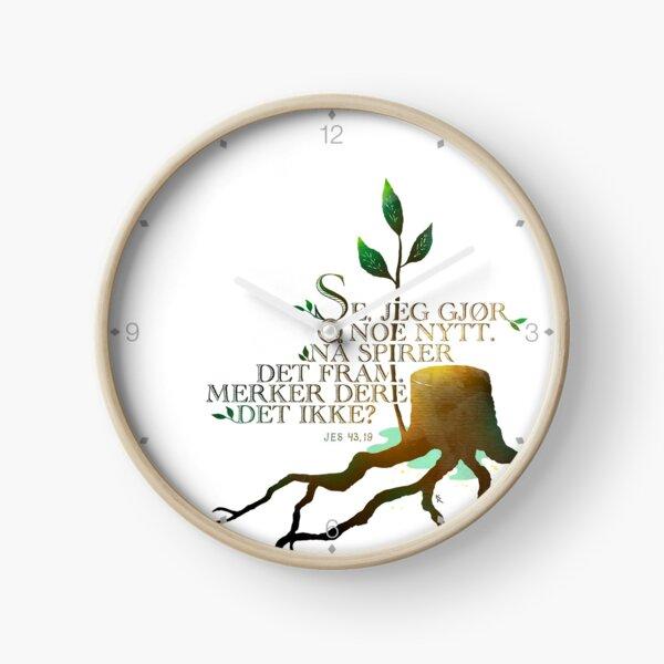 Se jeg gjør noe nytt Clock