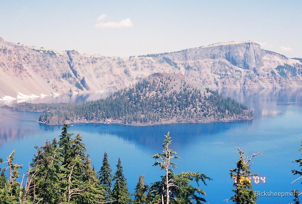 Crater Lake by Blcksheepmel