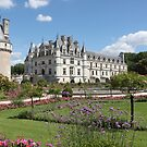 Chateau de Chenonceau Garden of Catherine de Medicis by Elena Skvortsova