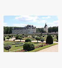 Chateau de Chenonceau Garden of Diane de Poitiers Photographic Print