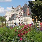 Amboise Castle by Elena Skvortsova
