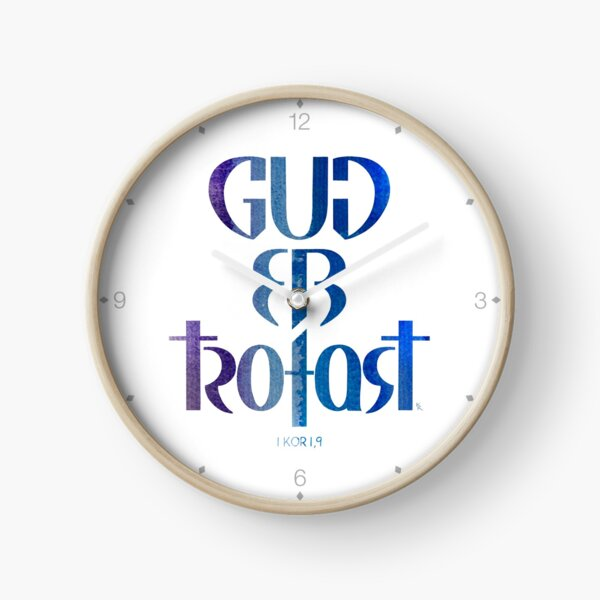 Gud er trofast Clock