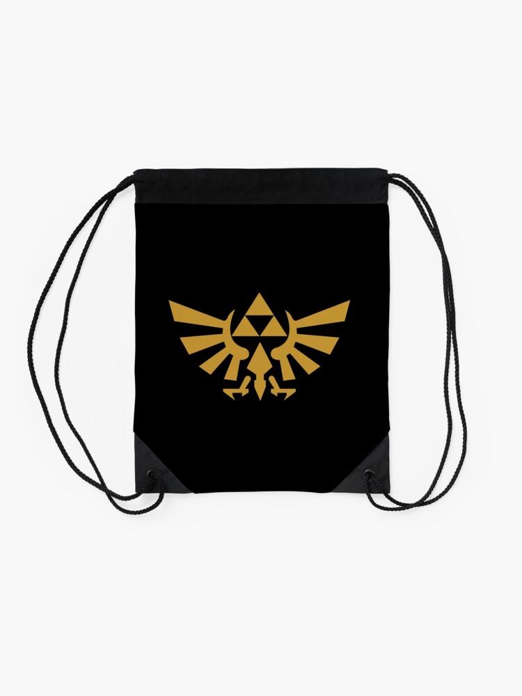 Alternate view of Zelda Drawstring Bag